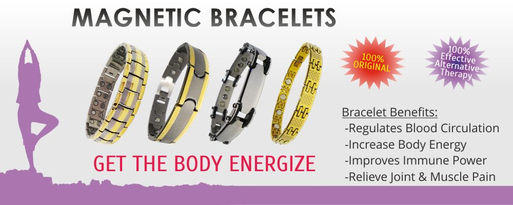 Biomagnetic Health Care Bracelets in Bulk