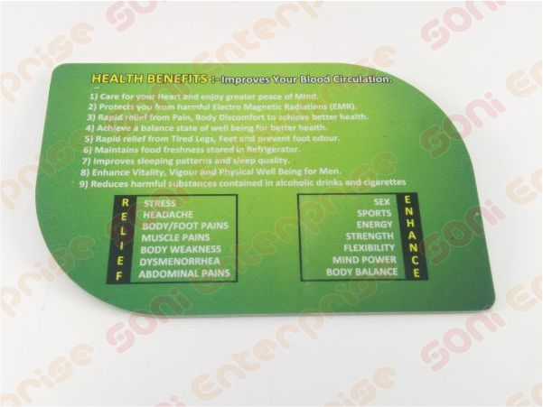 2mm Thick bio energy card