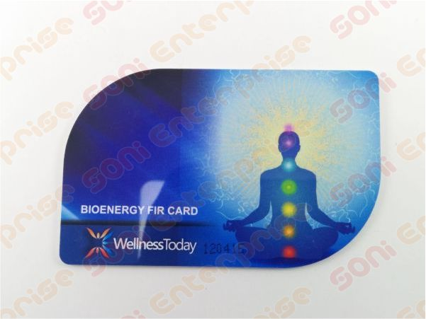 2mm Thick Wellness Today Bio Energy Card