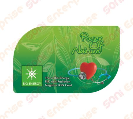 Power Of Nature Anti Radiation Bio Energy Card  Nano Health Card