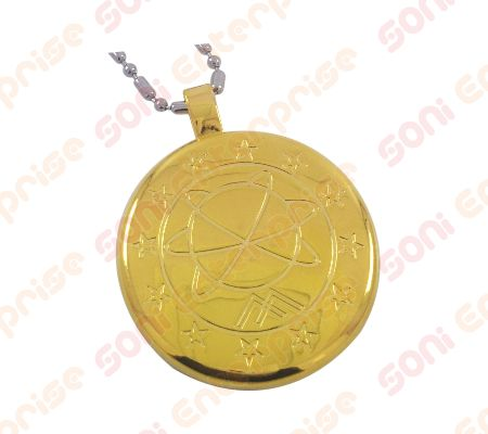 6+6 Golden MST Energy Pendant