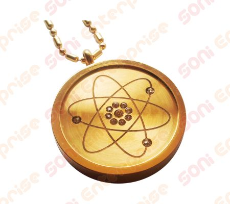 Natural Mineral Technology Pendants