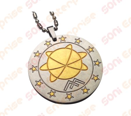 Mst energy pendant mineral science technology pendant importer in india two tone mineral energy pendant aloadofball Gallery