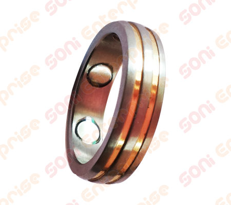 Magnetic finger ring for women