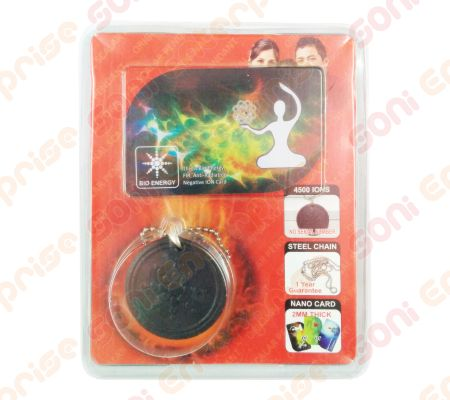Premium Quantum Scalar Energy Pendant with 2mm bio energy card and ss chain