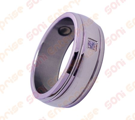 Stainless steel bio magnetic ring